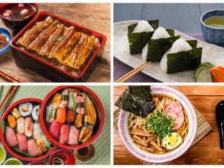 comida japonesa: sushi sashimi temaki
